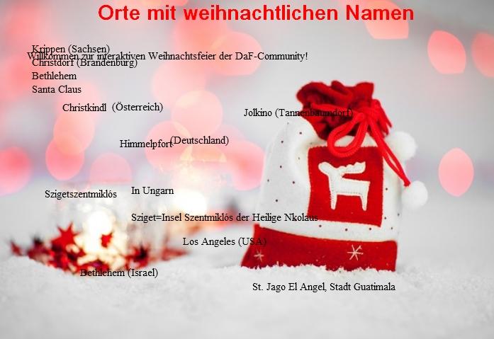weihnachtsorte